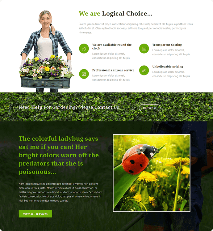Instant Lawns Brochure