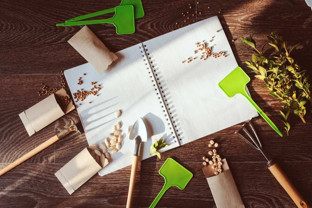 start planning your spring garden